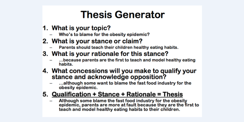 Thesis genorator solicitor general business plan
